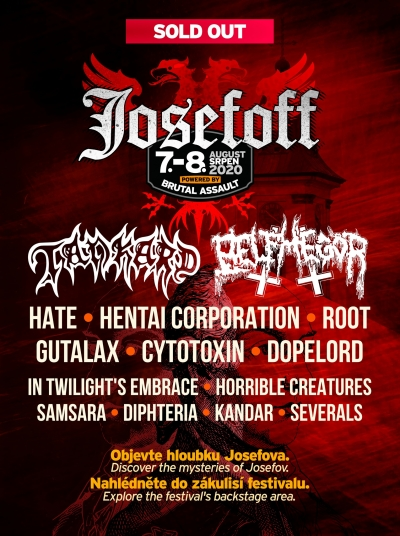 Josefoff – Brutal party and de mysteriis dom Josefov