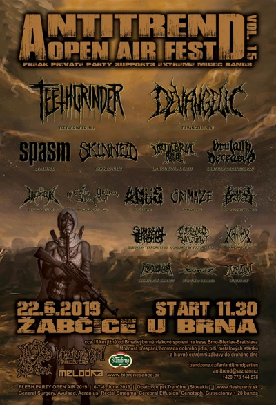 Antitrend open air fest 2019 (vol.15)